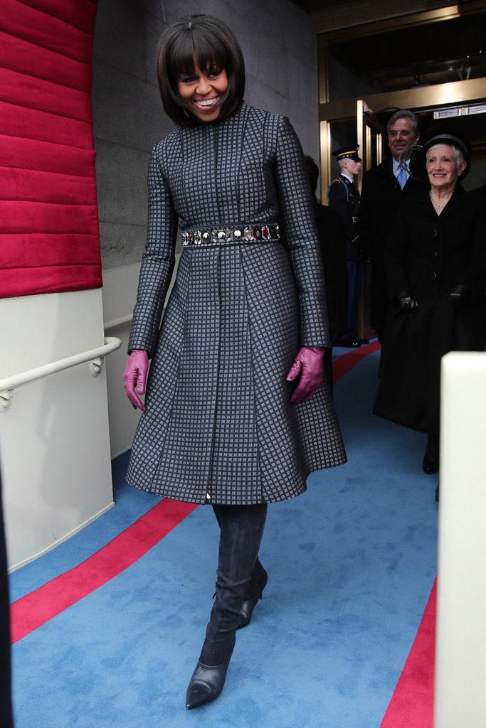 michelle obama inauguracion