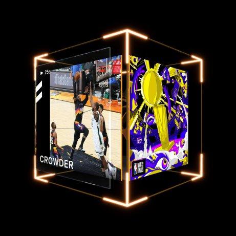 Jae Crowder 2021 NBA Finals Top Shot Moment