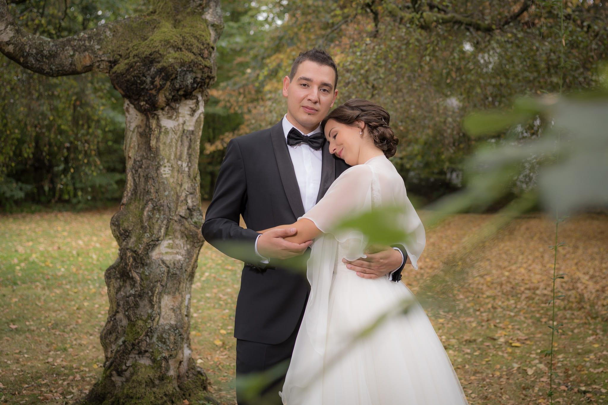 Brautpaar Shooting Porträt