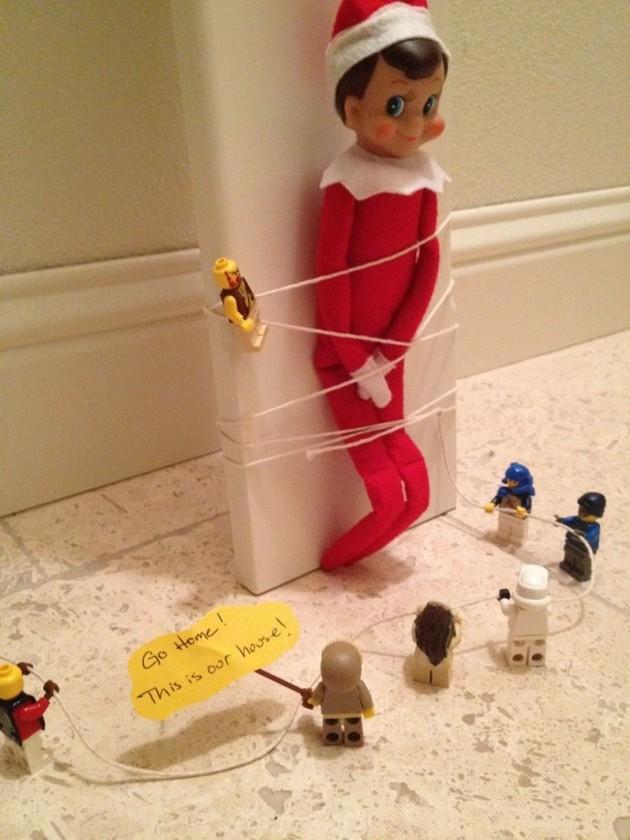 Funny-Elf-on-the-Shelf-Ideas-89