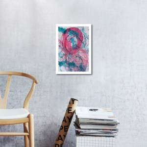 Abstract Acrylic Art On Paper - Render Me Special 2 by Charlie Albright | Moments by Charlie | Creative Abstract Artist, Photographer and Blogger | Made in Adelaide, Australia