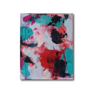 Abstract Acrylic Canvas Art - Mellow 1 - Movement Collection by artist Charlie Albright | Moments by Charlie | Creative Visual Artist, Photographer and Blogger | Made in Adelaide, Australia