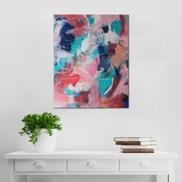 Abstract Acrylic Canvas Art - Twisted - Movement Collection by artist Charlie Albright | Moments by Charlie | Creative Visual Artist, Photographer and Blogger | Made in Adelaide, Australia