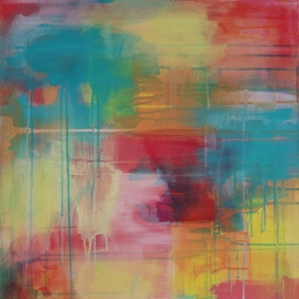 Abstract Acrylic Canvas Art - Hear The Yellow Wanderer - by Australian abstract artist Charlie Albright   Moments by Charlie   Creative Visual Artist, Photographer and Blogger   Made in Adelaide, Australia