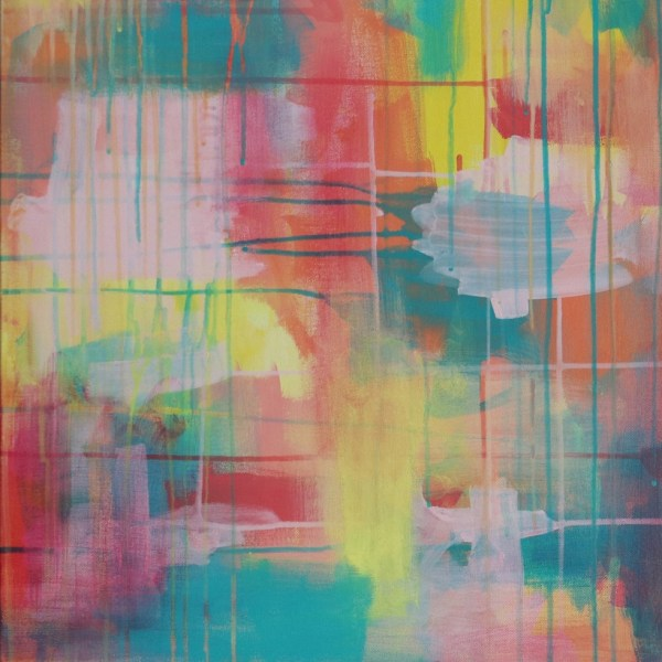 Abstract Acrylic Canvas Art - Wanderer - by Australian abstract artist Charlie Albright | Moments by Charlie | Creative Visual Artist, Photographer and Blogger | Made in Adelaide, Australia