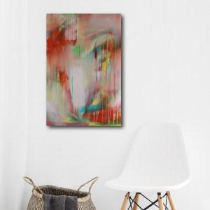 Abstract Art Titled Reclaim Your Power By Creative Visual Artist Charlie Albright | SALA 2018 Collection - Chasing Dancing Colours | Moments by Charlie Online Shop | Adelaide, South Australia