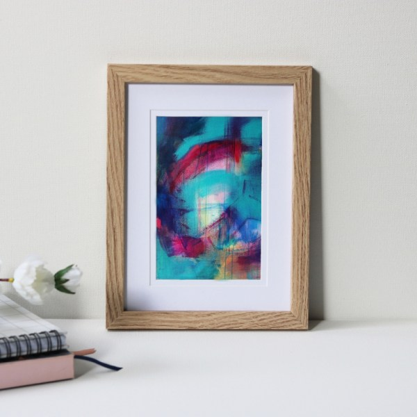 """Framed Art Print Titled Another Blessing In Disguise By Creative Visual Artist Charlie Albright 