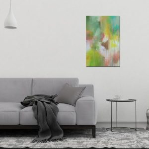 "Abstract Canvas Art Titled Guide Me Through A Path Not Travelled By Adelaide Abstract Artist Charlie Albright | Each Canvas Size 20"" x 30"" 
