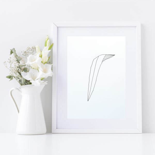 Original Drawing On Paper - Framed Titled You Are Beautiful 5 | By Adelaide Abstract Artist Charlie Albright | Moments by Charlie Blog - Online Shop - Creative Freelance Services | Adelaide, South Australia