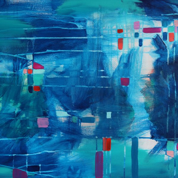 """Abstract Canvas Art Titled Infinite Possibilities By Adelaide Abstract Artist Charlie Albright 