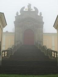 Quite an impressive entrance