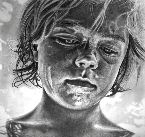 Hyper-realistic Pencil Drawings Artist Paul Stowe - With Unbelievable Details Moments