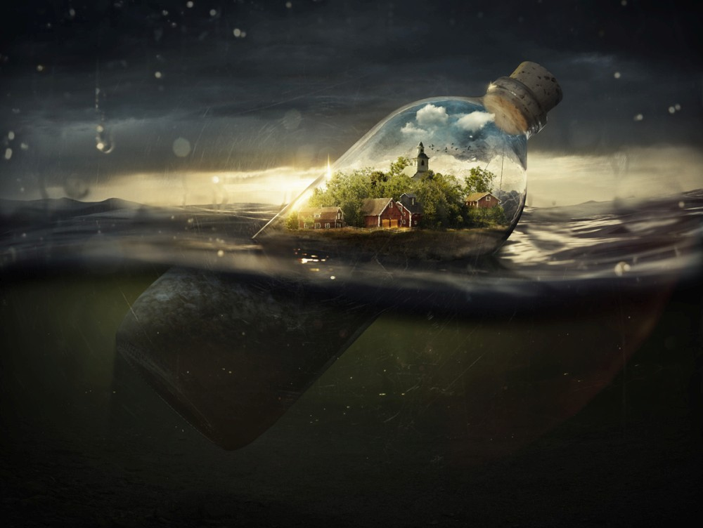 Fall In Michigan Wallpaper Erik Johansson Retouches Photographs To Fascinate Your