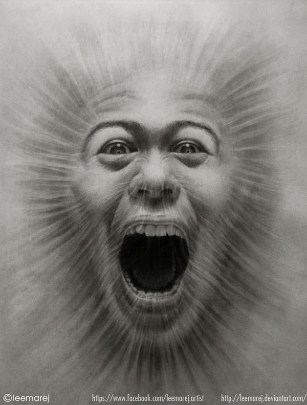 Amazing Graphite & Charcoal Drawings Of Jerameel Lu