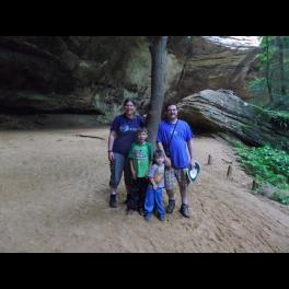 Family Hocking Hills