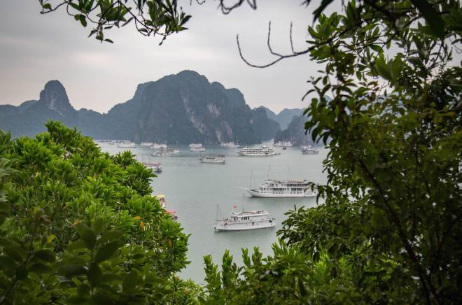 Halong Bay-Where the Dragon Descends to the Sea-moments of yugen