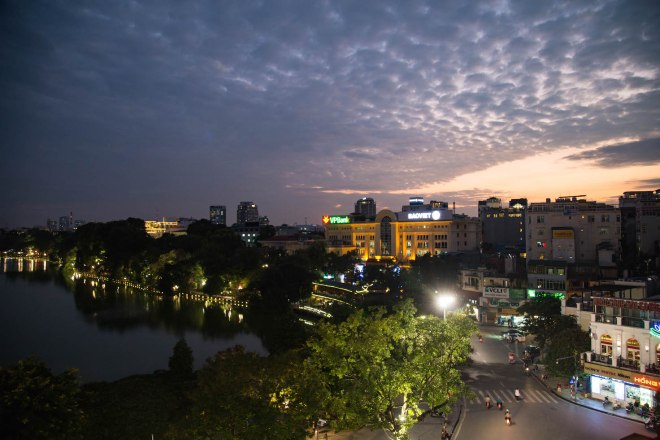 Hanoi-Panoramic view