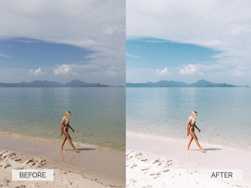 Before and after-Summer-08