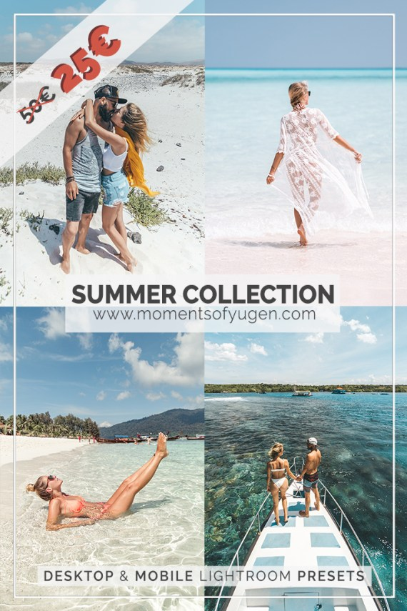 Summer Collection Lightroom Presets