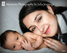 Newborn with Mom