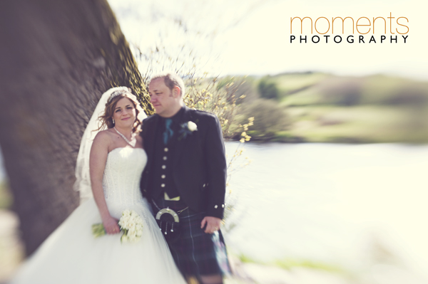 Snow, wind and sun wedding (1/4)