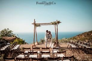 boda frente al mar