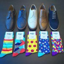 calcetin y zapato