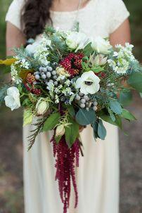 ramo novia invierno