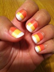 halloween nail design with jamberry