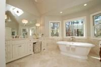 Elegant Master Bathroom Overview - Momentum Construction
