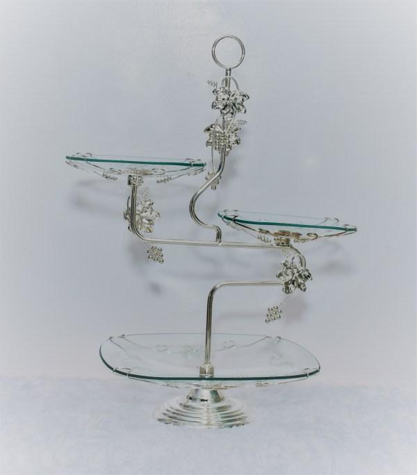 Glass and Silver Desert Rack 1
