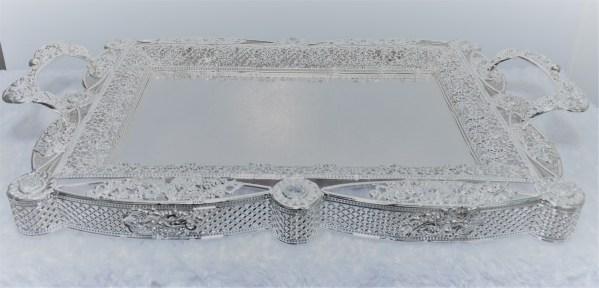 Silver Decorative Tray 1
