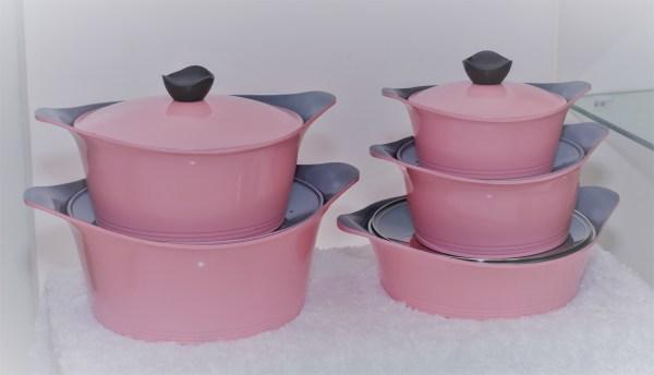 Pink Designer Pot 1