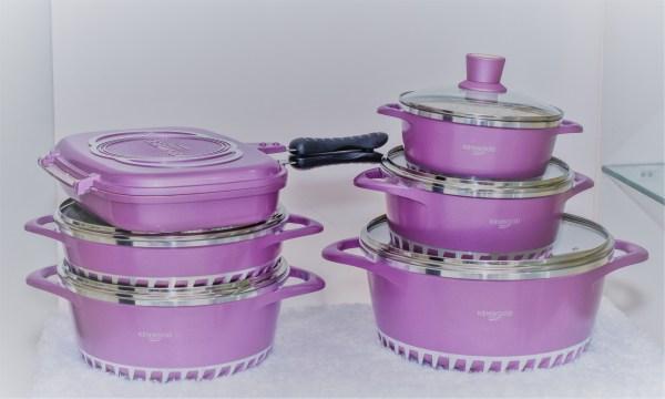 Purple Designer Pot 1