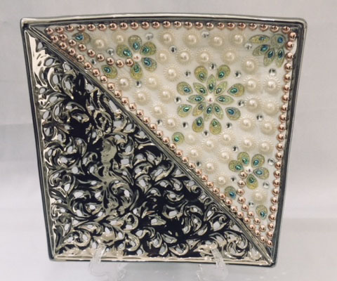 Triangular Decorative Plate 1