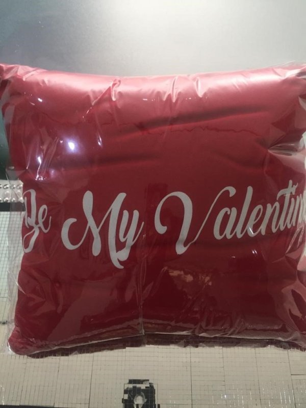 Be My Valentine Pillow