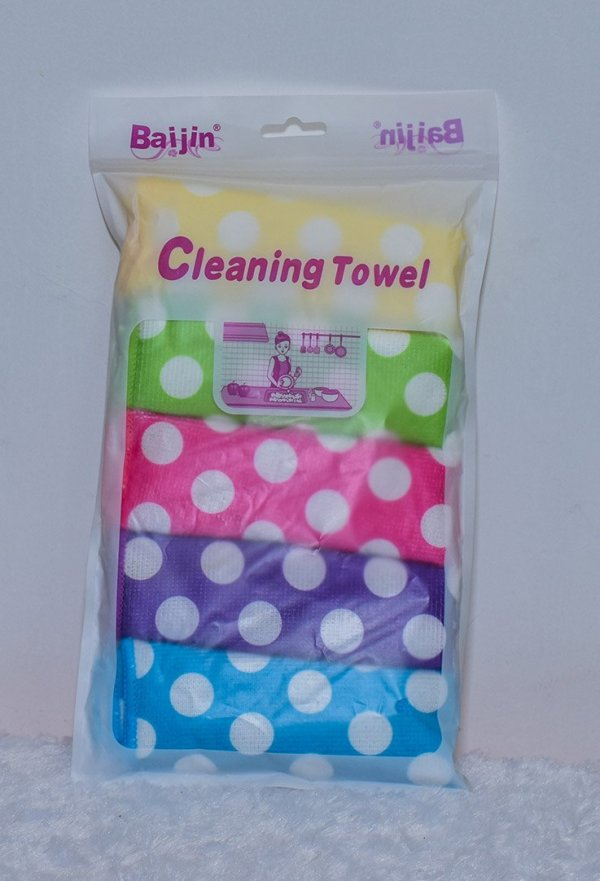 Colourful Cleaning Towels 1