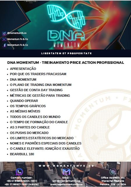 PDF Com Tópicos do curso Presencial DNA Momentum