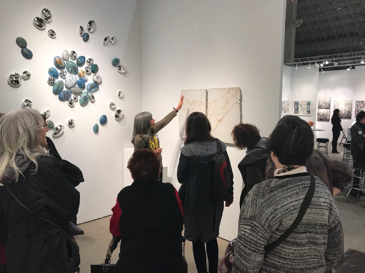 sofa art gallery ben whistler momentum at chicago 2017 2 5 november installation views