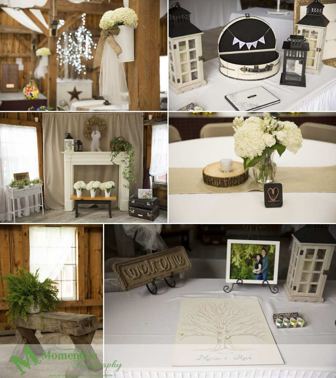 Williamstown Country Wedding - hydrangea decor