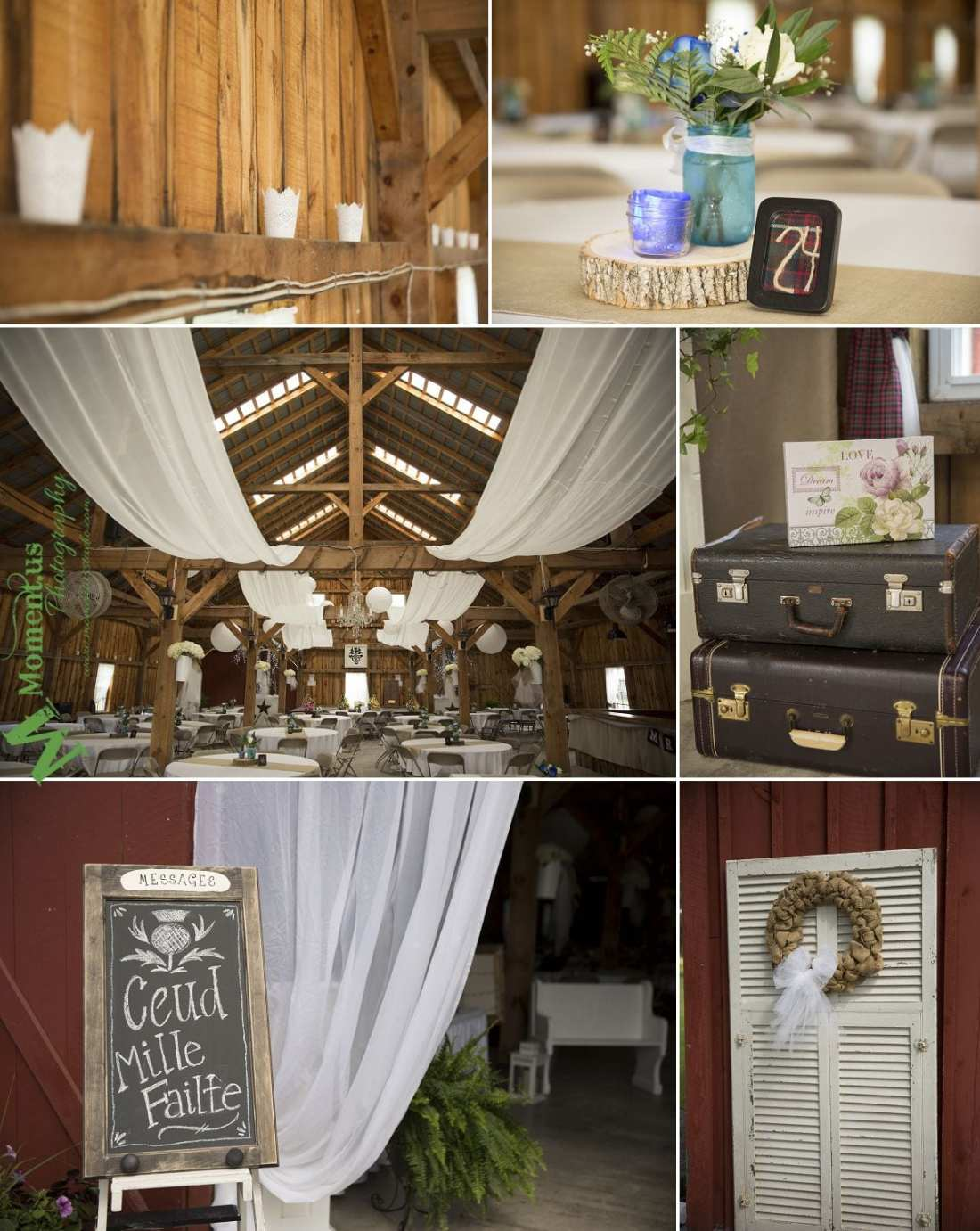 Williamstown Country Wedding - suitcases