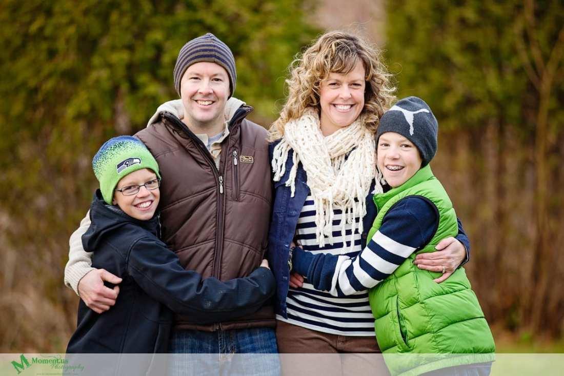 Moment.us Photography -Cornwall Family Photos group hug