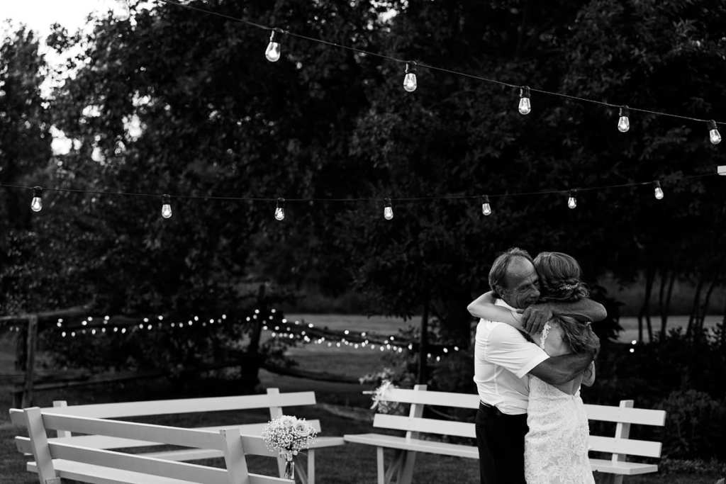 Father daughter dance at Intimate Strathmere Wedding