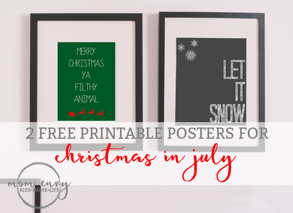 mom envy free christmas prints christmas in july printables