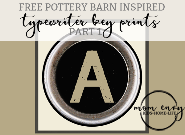 typerwriter keys pottery barn knock off mom envy
