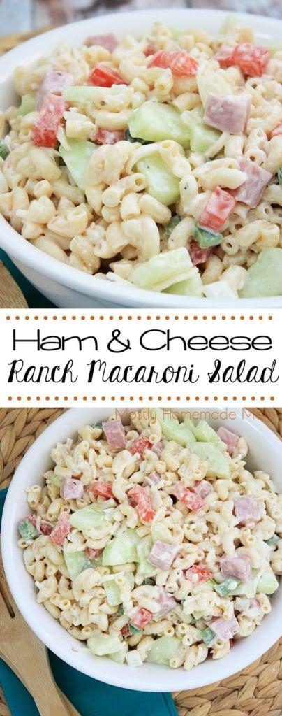 leftover ham recipes mostly homemade mom ham ranch pasta salad