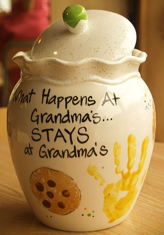 Mother's Day Crafts Round -up From Mom Envy - Grandmas Cookie Jar Kathy Did It