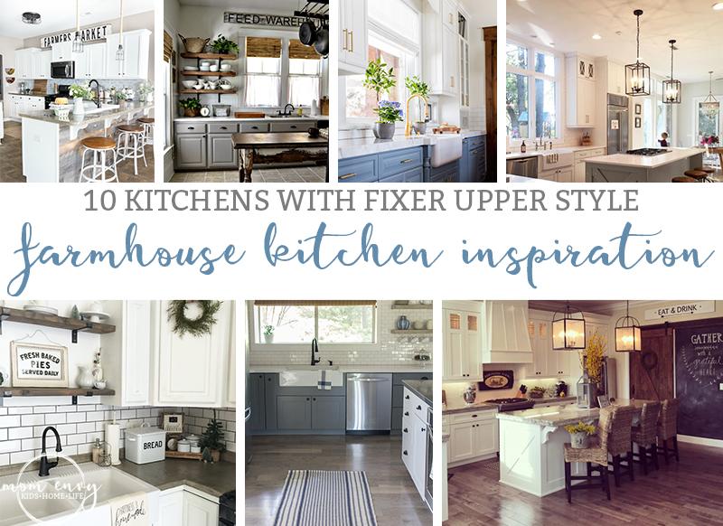 Farmhouse Kitchen Inspiration. 10 Beautiful Farmhouse Kitchens. Fixer Upper  Kitchens. Kitchens Chip U0026