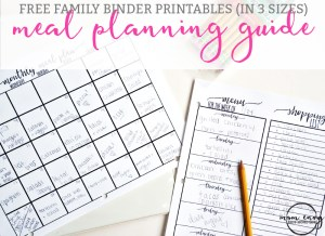 home organization printables free printable home organization