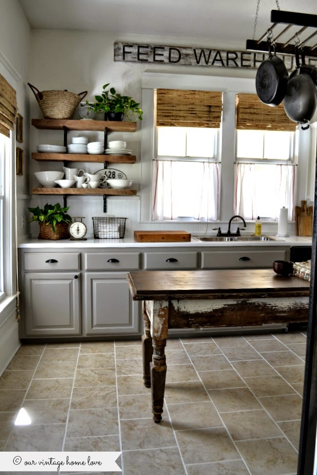 Save Our Vintage Home Love Kitchen Remodel